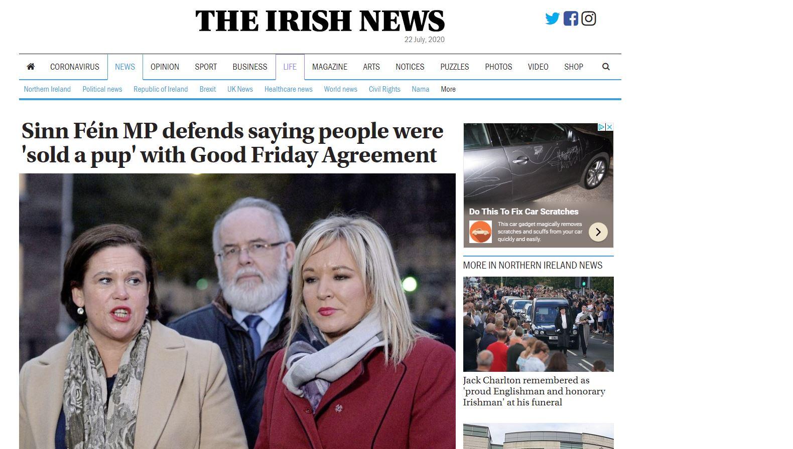 Irish News